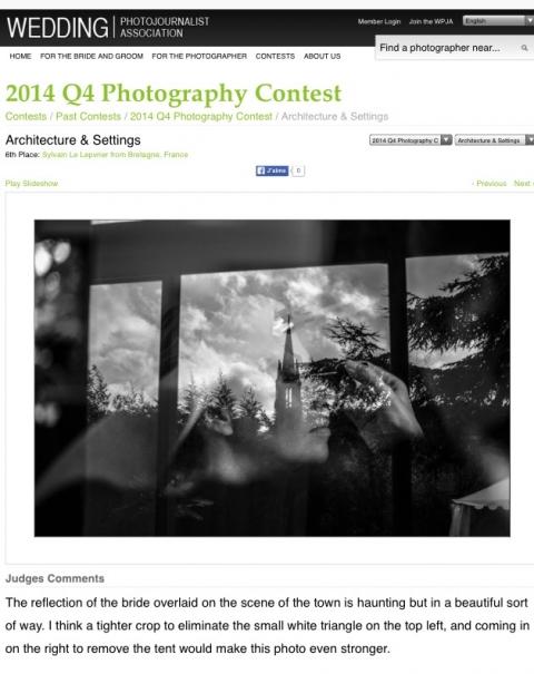 sixiem place architecture & sitting wpja contest  2014
